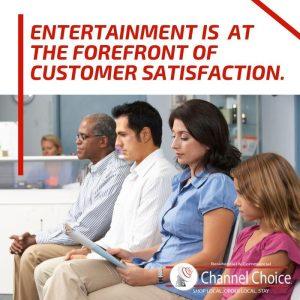waiting room entertainment Tucson DirecTV