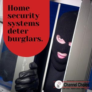homes security systems deter burglaries