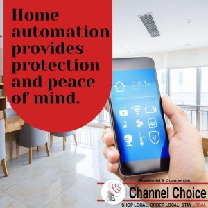 home automation brings peace of mind