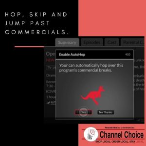 Skip past commercials with Hopper 3