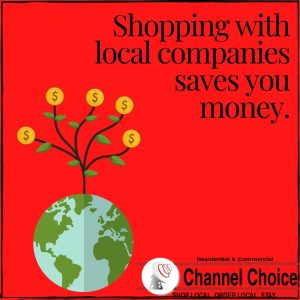 shop local to save money