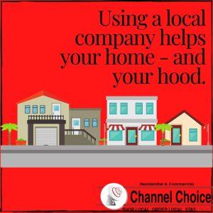 shopping local helps the neighborhood