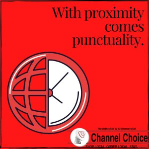 Channel Choice responds quickly to internet and cable needs