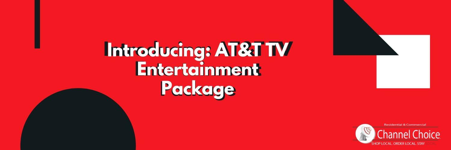at&tv tv entertainment package