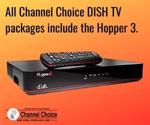 DISH TV package with Hopper 3