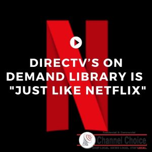 DirecTV On Demand for streaming