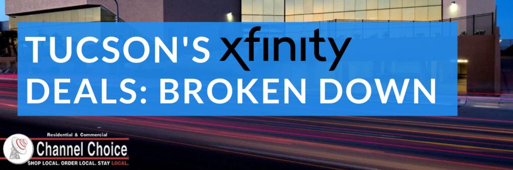 tucson xfinity deals