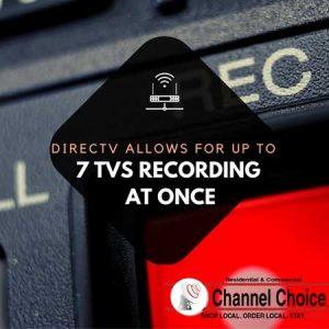 directv genie dvr recording capabilities